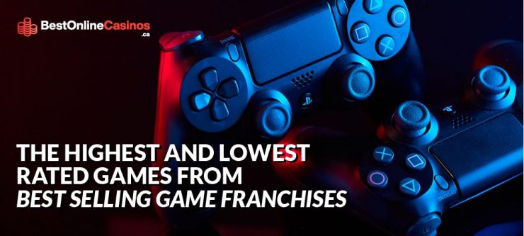 The Highest and Lowest-Rated Games from Best-Selling Franchises