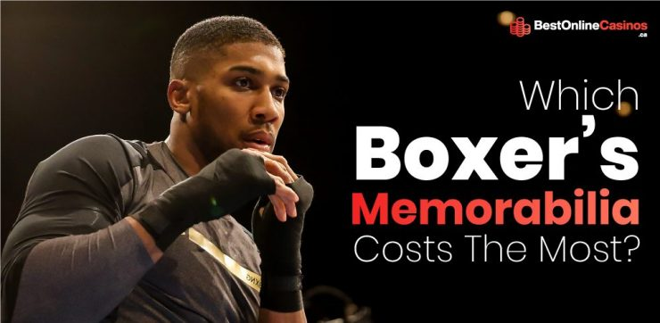 Which Boxer's Memorabilia is the Most Expensive?